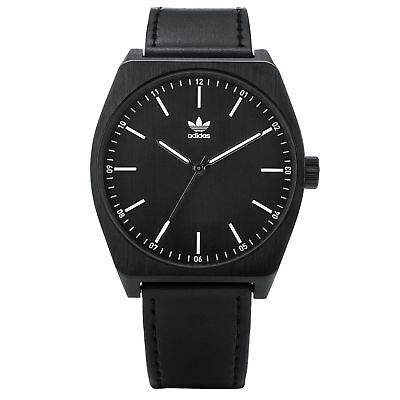 Adidas Originals Process L1 Homme Montre - All Black / White Une Taille