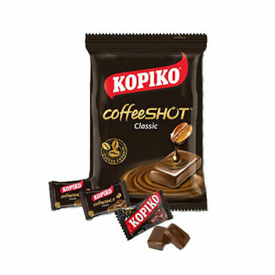 KOPIKO COFFEESHOT COFFEE CLASSIC HARD CANDY LOLLIES LOLLY CONFECTIONERY 150g