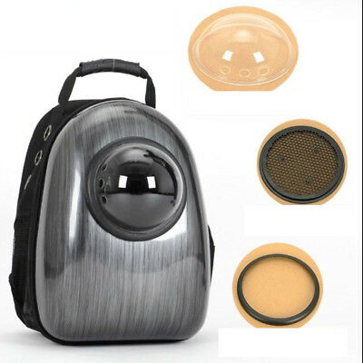 Pet Breathable Backpack Capsule Shaped Dog Cat Carrier Portable Pet Supplies