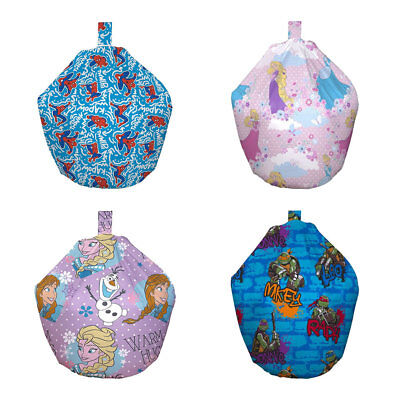 Childrens Novelty Character Bean Bags - Filled and Unfilled from £4.95