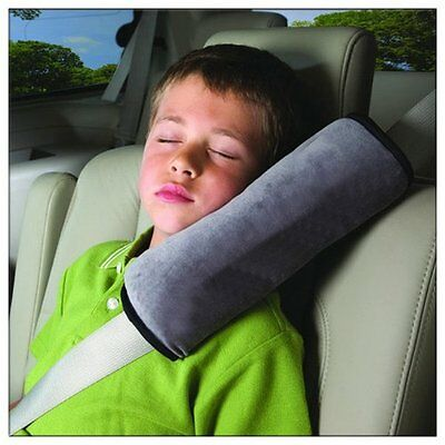 2X Children Car Safety Cushion Harness Shoulder Cover Seat Belt Pad Strap Pillow