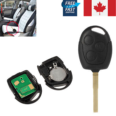 1X New Remote Key Fob For Ford Fiesta Focu Galaxy Mondeo Replacement 3 Button CA