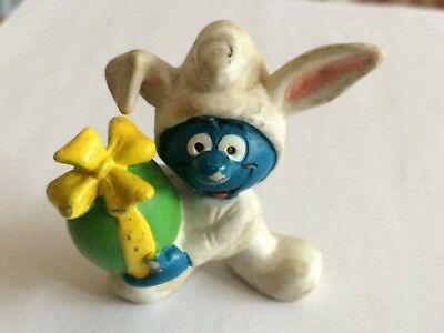 VINTAGE SMURF EASTER BUNNY shipping is for up to 10 smurfs