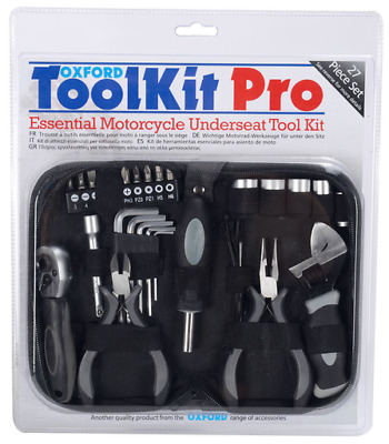 Oxford Products Motorcycle Tool Kit Pro 27pc Tool Kit (OX770)