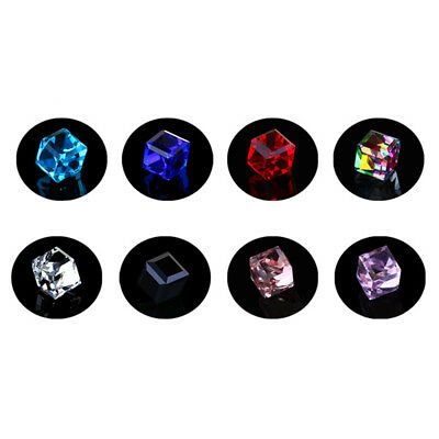 1Pair Square Magnetic Clip On Ear Stud Earrings No Piercing Mens Women Gothic