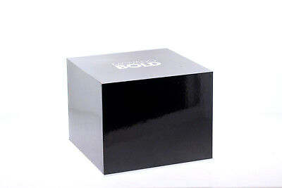 Authentic Movado Bold Black Watch Box - Instructions & Warranty Card Included