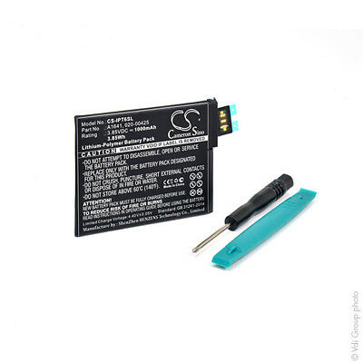 Batterie MP3/MP4/Multimédia 3.85V 1000mAh - 020-00425 ; A1641