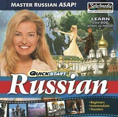 QuickStart English AUDIO 2 CDs  Learn English Quickly  Brand New Sealed