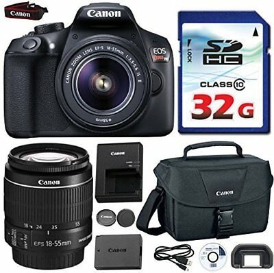 Canon EOS Rebel T6 DSLR 18mp + EF-S 18-55mm IS [Image Stabilizer] II Zoom Lens