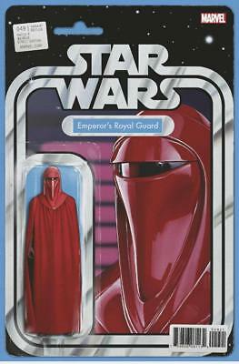 Star Wars #49 Action Figure Variant Emperor's Royal Guard Comic Book