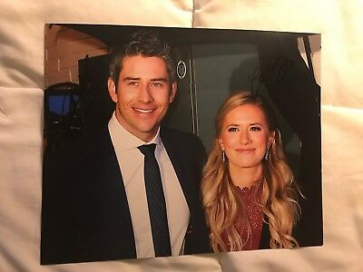 Arie Luyendyk Jr & Lauren Burnham Signed Indy 500 8X10 Photo The Bachelor