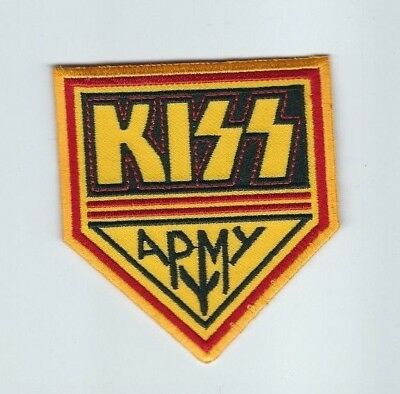Kiss Army Shield Embroidered Patch !