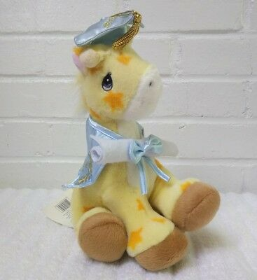 Precious Moments Graduation Giraffe 2004 Stuffed Animal Plush Stars        (A29)