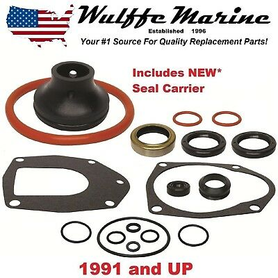 Lower Unit Gearcase Seal Kit for Mercruiser Alpha I Gen II 18-2646-1 26-816575A3