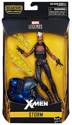 Marvel Legends Storm X-Men Wave 3 with Apocalypse BAF Piece In Stock!