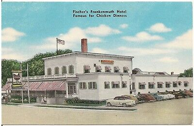 Fischer S Hotel And Restaurant In Frankenmuth Mi Postcard