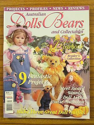 Australian Dolls, Bears & Collectables - Volume 8 No.1 2001 Yearbook