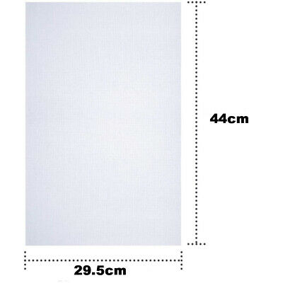 White 14 Count 14CT Cross Stitch Cloth Aida Fabric/Canvas Cotton 30 x 45cm