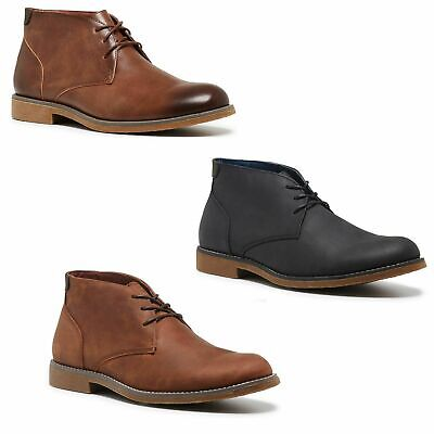 HUSH PUPPIES TERMINAL BOOTS Mens Lace Up Men's Shoes Leather Black Brown Boot