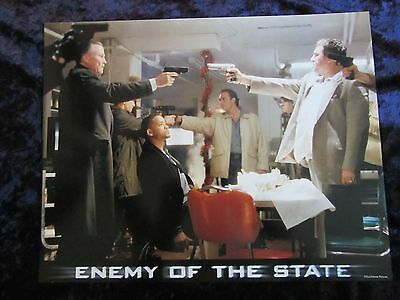 ENEMY OF THE STATE lobby card # 5 -  WILL SMITH poster