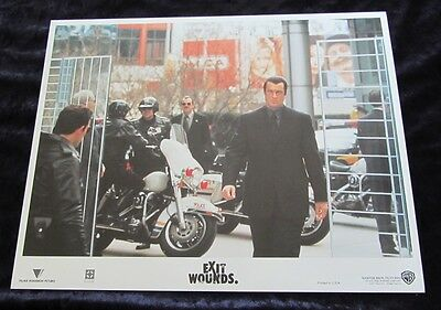 EXIT WOUNDS lobby cards STEVEN SEAGAL original set of 6 cards