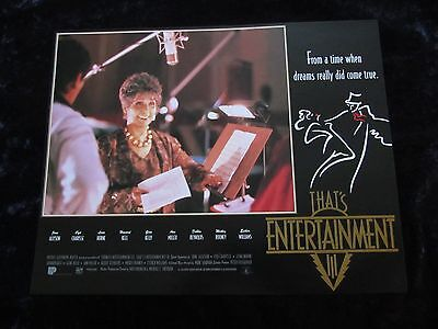 THATS ENTERTAINMENT PART III lobby card #4 MGM MUSICALS