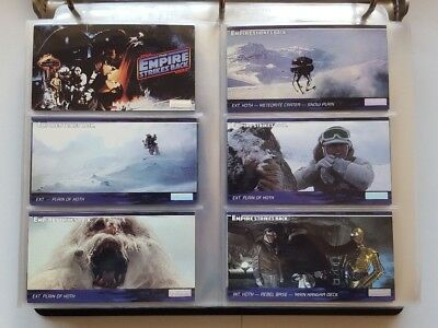 Star Wars Widevision Trading Card Set - Series 2 - NM - Includes Card Pages