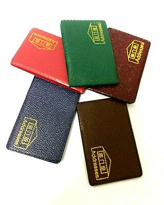 Mini Address Book Colorful Phone Number Contact Pocket Size Green Red  Limited