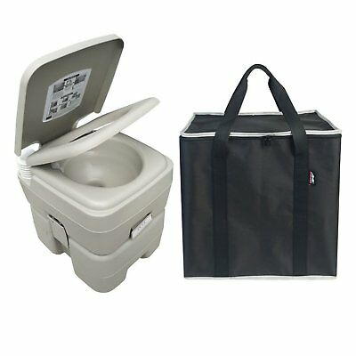 Leopard Outdoor T-Type Three Directional Flush Portable Travel Toilet with Stora