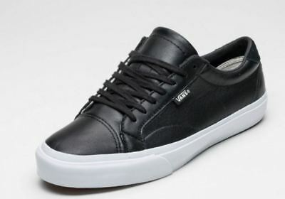 5b662367521ff8 VANS COURT DX LEATHER BLACK SKATE Shoes Men s Size 9  75 -  49.41 ...