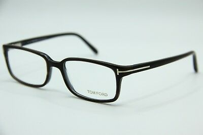 80cda38eb433 Brand New Tom Ford Tf 5209 020 Brown Eyeglasses Authentic Rx Frame Tf5109  53-17