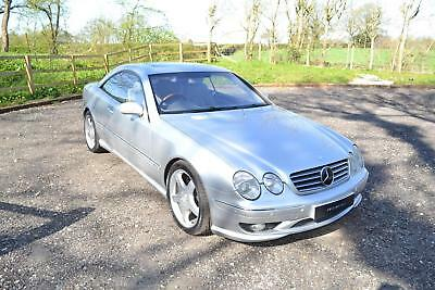 2001 Merecedes-Benz CL 600 Coupe RHD