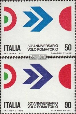 Italy 1307-1308 (complete issue) unmounted mint / never hinged 1970 First Flight