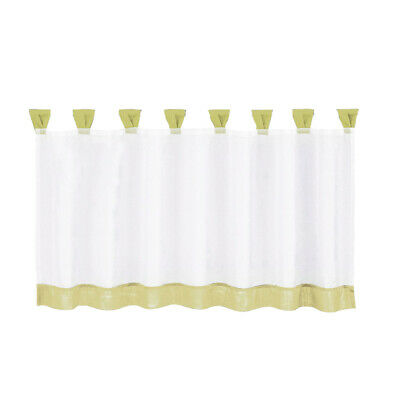 Voile Cafe Panel Kitchen Bathroom Ready Made Net Curtains 6 Size Available