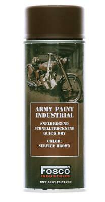 Bombe De Peinture Militaire Spray Fosco 400 Ml Service Brown