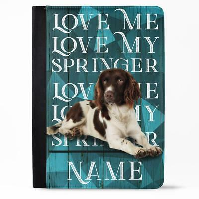 Personalised Ladies Purse SPRINGER SPANIEL Long Coin Wallet Womens Gift KPL37