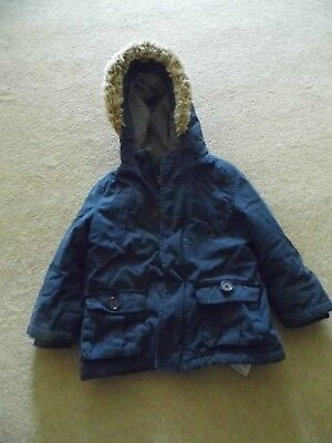 Padded, Hooded Jacket from Mothercare Age 18 - 24 months