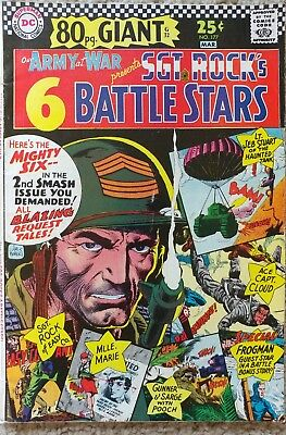 Our Army At War #177 80 Page Fn/vf 7.0 Dc 3/1967