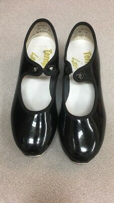 Girls Tempo by Leo's Dance Shoes Black Tap Sz. 1.5 N