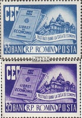 Romania 1561-1562 (complete issue) unmounted mint / never hinged 1955 State Spar