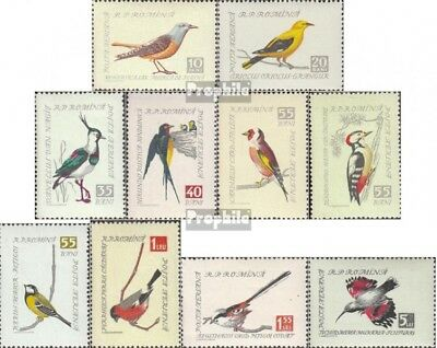 Romania 1780-1789 (complete issue) unmounted mint / never hinged 1959 Songbirds