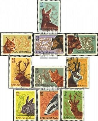 Romania 1981-1990 (complete issue) unmounted mint / never hinged 1961 Hunting