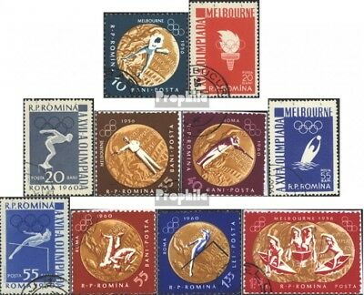 Romania 2010A-2019A (complete issue) unmounted mint / never hinged 1961 runänisc