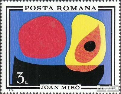 Romania 2904 (complete issue) used 1970 Paintings