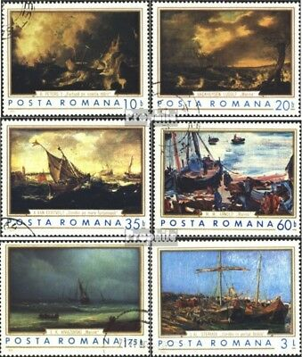 Romania 2971-2976 (complete issue) unmounted mint / never hinged 1971 Paintings