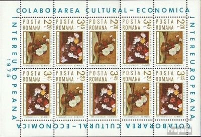 Romania 3258-3259 Sheetlet (complete issue) unmounted mint / never hinged 1975 I