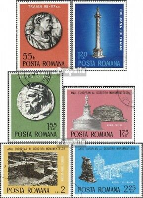 Romania 3267-3272 (complete issue) unmounted mint / never hinged 1975 Monumental