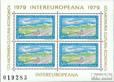 Romania block158 (complete issue) used 1979 INTEREUROPA