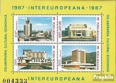 Romania block232 (complete issue) unmounted mint / never hinged 1987 INTEREUROPA