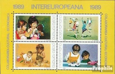 Romania block254 (complete issue) unmounted mint / never hinged 1989 INTEREUROPA